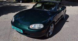 Mazda MX-5 1.6i NB nieuwe APK en Leer (bj 1999)